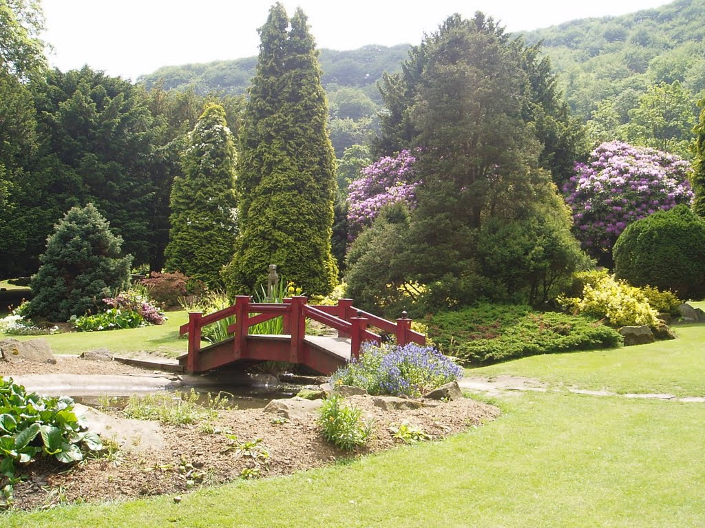 Centre Vale Park Todmorden looks like a great place to visit after lockdown.