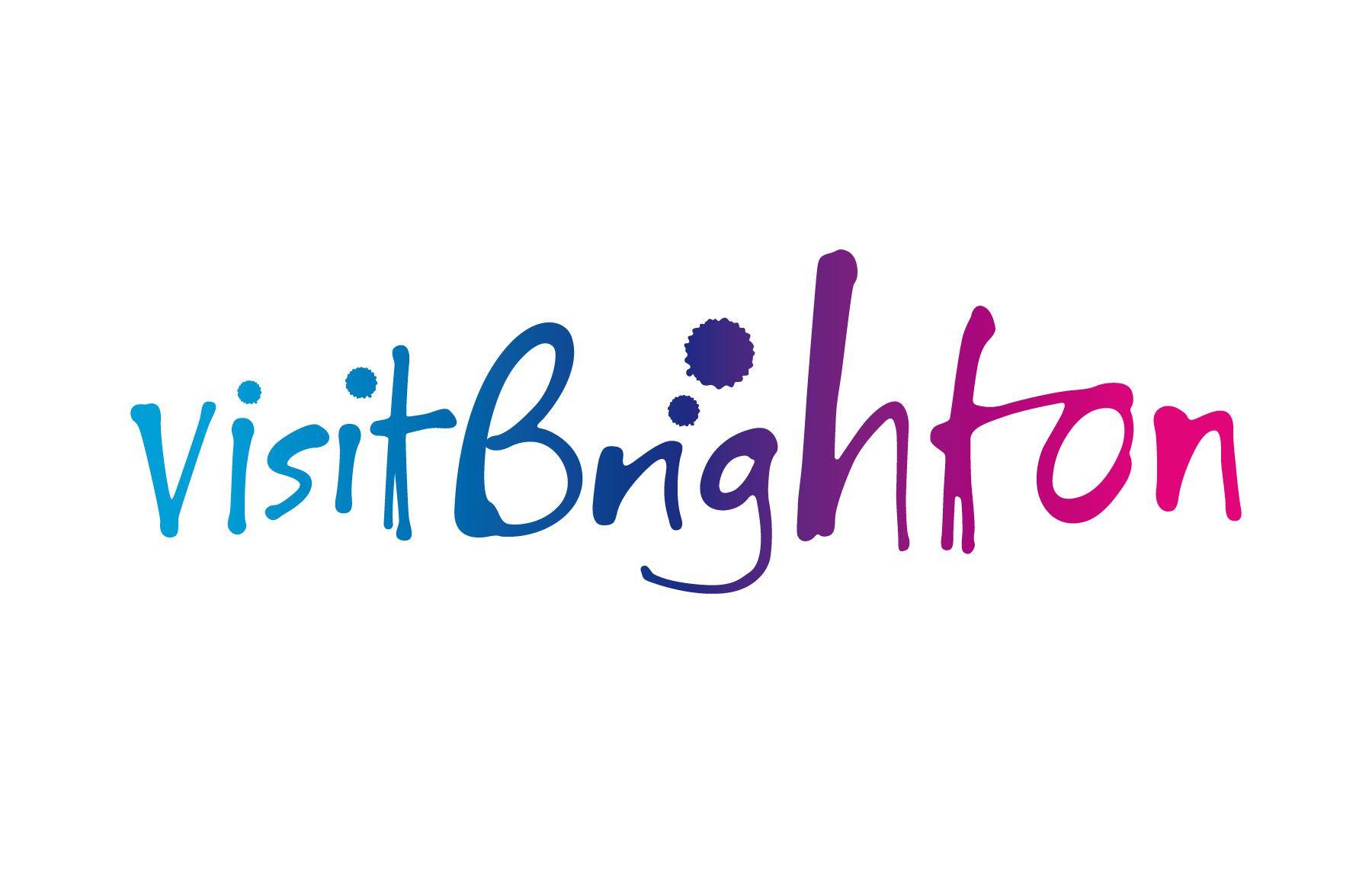 """Visit Brighton"" logo"